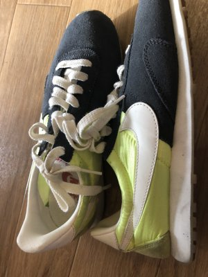 Nike sneaker grau/neongelb