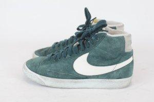 Nike Sneaker High Tops Gr. 38 grün Wildleder Turnschuhe