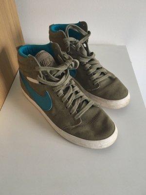 Nike sneaker hoch grün gr 41