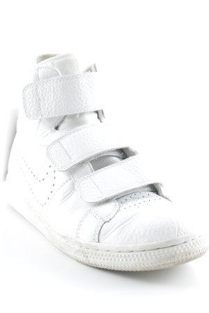 Nike Sneaker Klettverschluss weiß Casual-Look