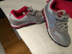 Nike Sneakers met veters grijs-violet