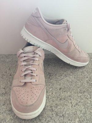 Nike Sneaker Schuhe Dunk Low Rosa Leder tolle Details Gr.42,5