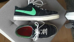 Nike Zapatillas negro-verde