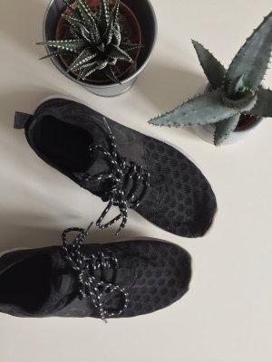 NIKE Sneaker schwarz weiß Lunar Sports 36.5