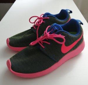 Nike Sneaker Turnschuhe Grün Pink Gr. 37.5