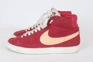 Nike High top sneaker rood Suede