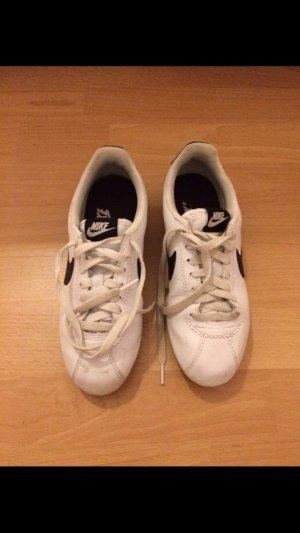 Nike Sneaker weiß schwarz Gr.37,5
