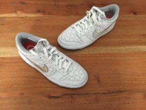 Nike Sneaker - weiß / silber - Größe 40,5 - Leder - wie neu*