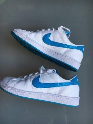 Nike Sneaker weiß türkis Leder