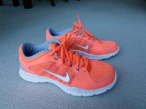 NIKE-Sneakers in Neon-Orange  (36.5)