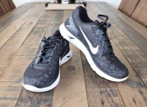 Nike Sneakers Lunarglide 5 Gr. 37,5 leo schwarz Reflektoren