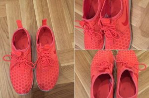 Nike Sneakers neon orange 39