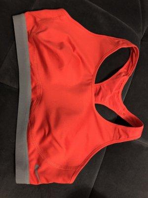 Nike Sporttop rood-neonrood