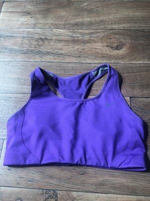 Nike Top bustino lilla-viola scuro