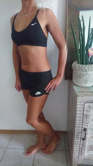 Nike Reggiseno nero-bianco