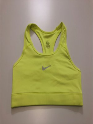 Nike Sporttop limoen geel-neongeel