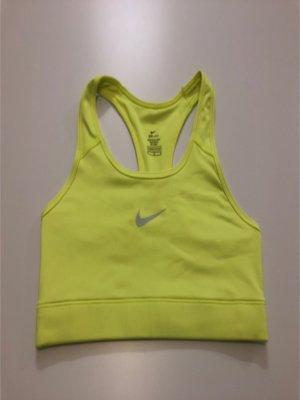 Nike Canotta sportiva giallo lime-giallo neon