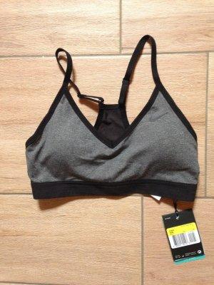 Nike Sport BH Indy Größe S schwarz grau