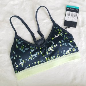 Nike Sports Tank anthracite-pale green