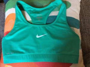 Nike Sport-BH türkis