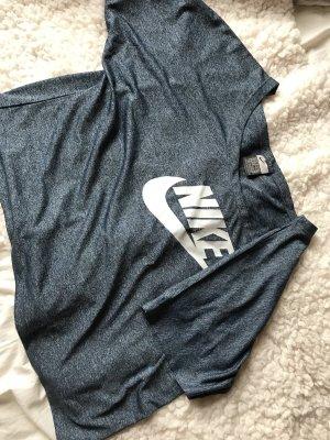 Nike Maglietta sport blu acciaio