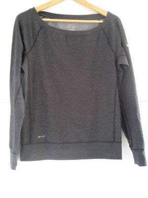 Nike Sport Shirt Dri fit anthrazit