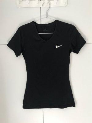 Nike Sportshirt zwart-wit