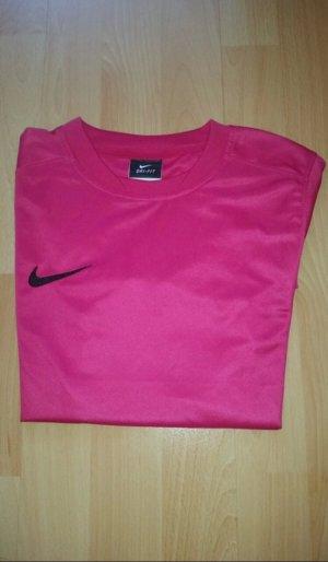 Nike Sportshirt magenta-framboosrood