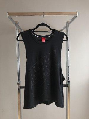 Nike Canotta fitness nero-grigio