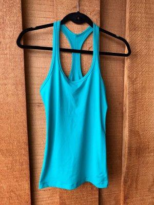 Nike Sporttop lichtblauw Polyester