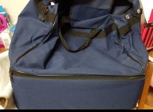 Nike Sac de sport blanc-bleu foncé