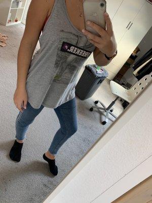 Nike Lange top grijs