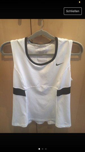 Nike Sporttop wit-zwart