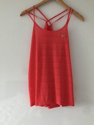 Nike Sport-Top Orange neu