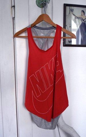Nike Débardeur de sport multicolore coton