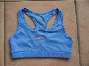 Nike SportBH in hellblau