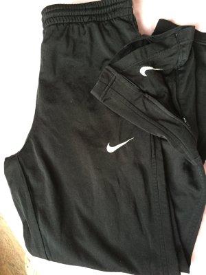Nike Pantalon de sport noir-blanc polyester