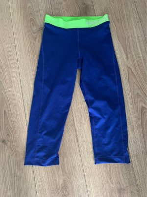 Nike Pantalone da ginnastica verde neon-blu