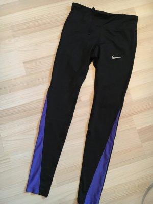 Nike Pantalon de sport noir-bleu