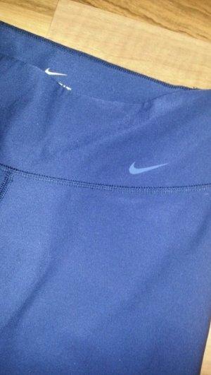 nike sporthose blau M