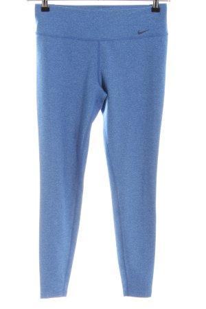 Nike Pantalone da ginnastica blu stile atletico