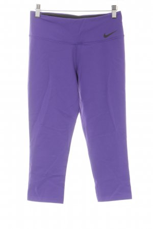 Nike Trackies lilac-black athletic style