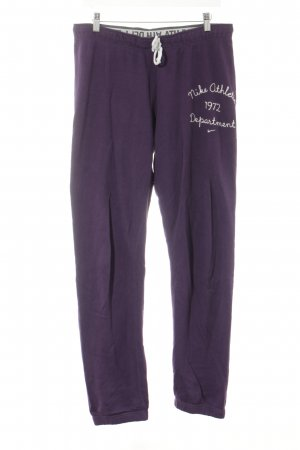 Nike Trackies lilac athletic style