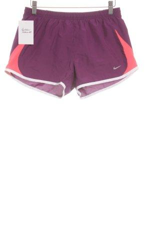 Nike Pantalon de sport multicolore style athlétique