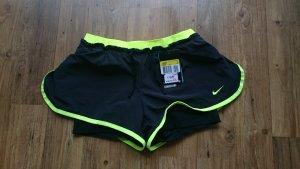 Nike Sporthose, schwarz-gelb, neu