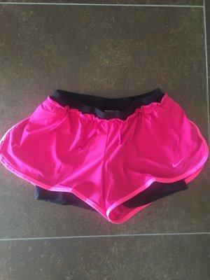 Nike Sporthose schwarz/pink Gr. S