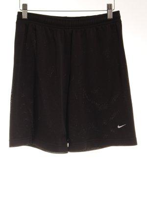 Nike Sporthose schwarz-weiß sportlicher Stil