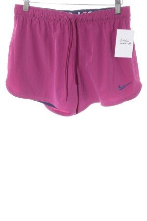 Nike Sporthose violett Casual-Look