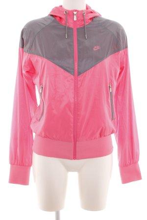 Nike Sportjacke pink-hellgrau Casual-Look