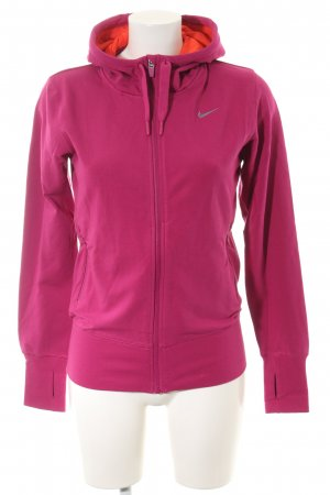 Nike Sportjacke pink Casual-Look